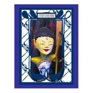 Shadow puppet, Every Good Wish 1 Postcard