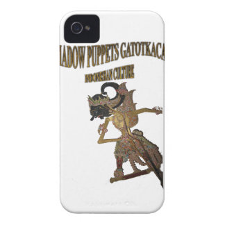 Shadow Puppets Gatot Kaca Indonesian culture Case-Mate iPhone 4 Case