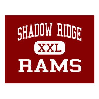 Shadow Ridge - Rams - Middle - Thornton Colorado Postcard