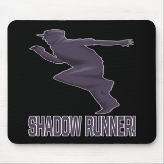 Shadow Runner Mouse Pad