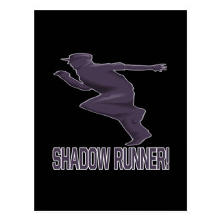 Shadow Runner Postcard