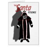 Shadow Santa Card