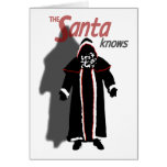 Shadow Santa Card