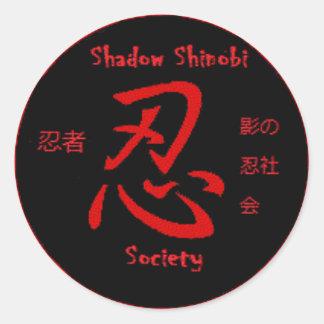 Shadow Shinobi Sticker