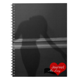 Shadow Silhouette of Woman (Notebook) Notebook