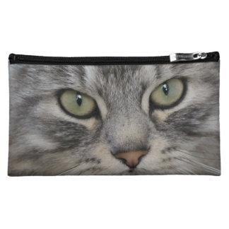 Shadow Silver Tabby Persian Cat Cosmetic Bag