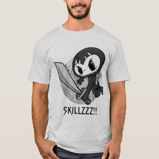 "Shadow Skull Ninja Warrior ""SKILLZZZ!!!"" T-Shirt"