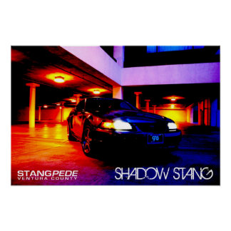 Shadow Stang Poster