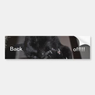 Shadow Sticker - Back Off!