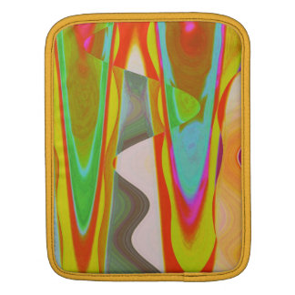 Shadow Talk - Acrylic Oriental Color Art iPad Sleeve