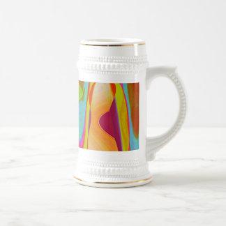 Shadow Talk - Acrylic Oriental Color Art Coffee Mug