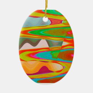Shadow Talk - Acrylic Oriental Color Art Ornament