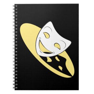 Shadow Theatre Masks Notebook