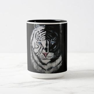 SHADOW TIGER Two-Tone COFFEE MUG