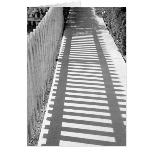 Shadow Tracks Card