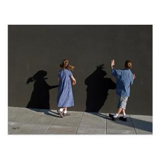 Shadow Wall Postcard