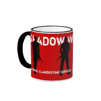 Shadow Warriors - CIA National Clandestine Service Ringer Coffee Mug