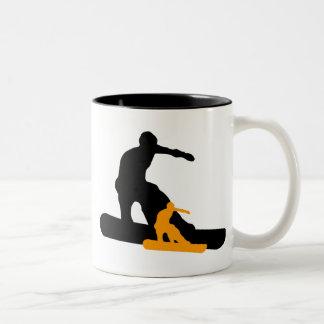 shadowboarder Two-Tone coffee mug