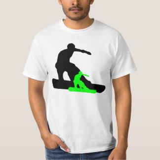 shadowboarder: verde del neón: camisas