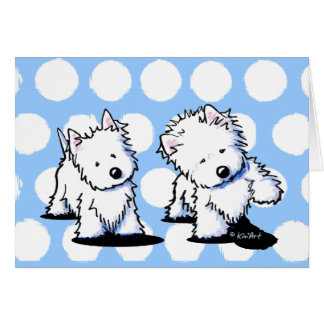 Shadowboxing Westies Card