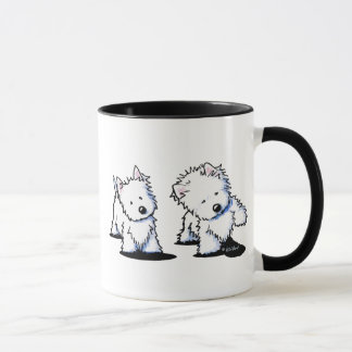 Shadowboxing Westies Mug