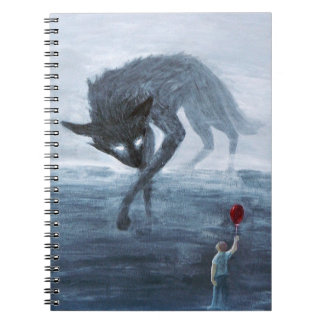 Shadowdog Meets Davey Notebook