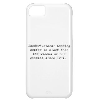 Shadowhunters Cover For iPhone 5C