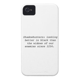 Shadowhunters iPhone 4 Case-Mate Cases