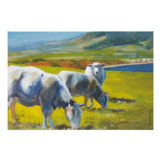 Shadowlands Sheep Poster