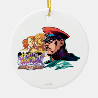 Shadowloo 2 Double-Sided ceramic round christmas ornament