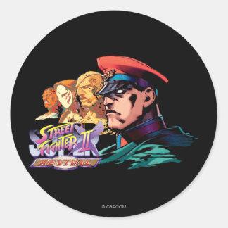 Shadowloo Classic Round Sticker