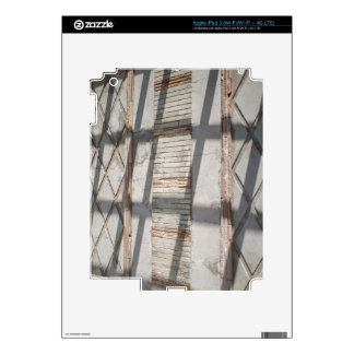 Shadows Against A Wall iPad 3 Skin