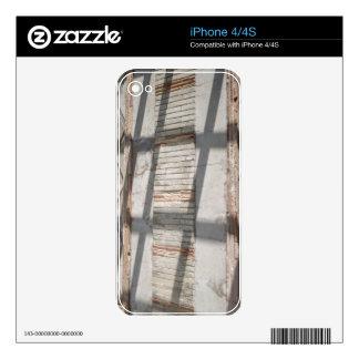 Shadows Against A Wall iPhone 4 Skin