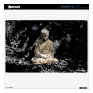 Shadows and Light around Buddha MacBook Air Decal