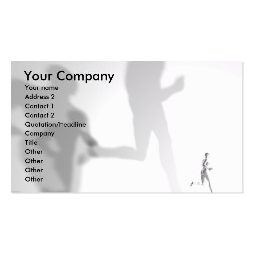 Shadows - Business card