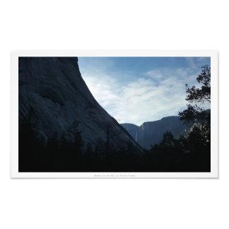 """Shadows Fore the Falls,"" Yosemite Valley Photo Print"