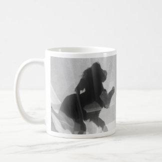 Shadows & Light Mug | 9-Week Old Lurcher Puppy