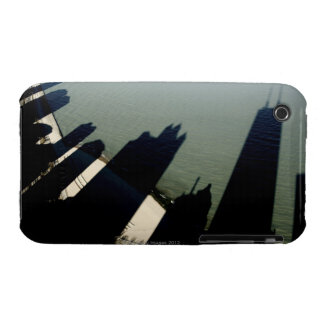 Shadows of Hancock Tower and apartment buildings iPhone 3 Case-Mate Case