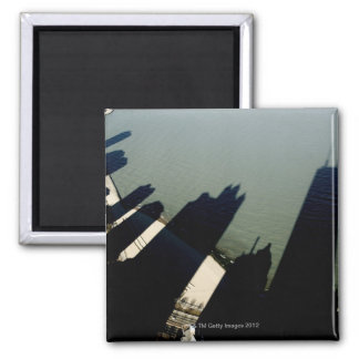 Shadows of Hancock Tower and apartment buildings Magnet