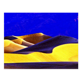 Shadows On The Dunes Postcard