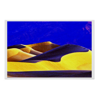 Shadows On The Dunes Posters