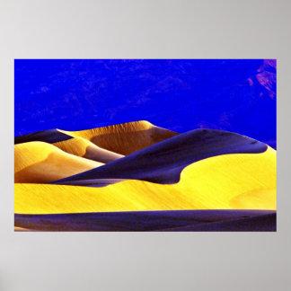 Shadows On The Dunes Print