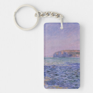 Shadows on the Sea. The Cliffs at Pourville Keychain