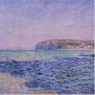 Shadows on the Sea. The Cliffs at Pourville Statuette