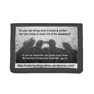 """""""Shadows"""" Picture Wallet"""