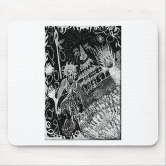 Shadows' Revelry Inverted Mouse Pads