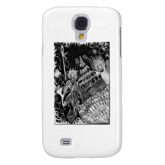 Shadows' Revelry Inverted Samsung Galaxy S4 Cases