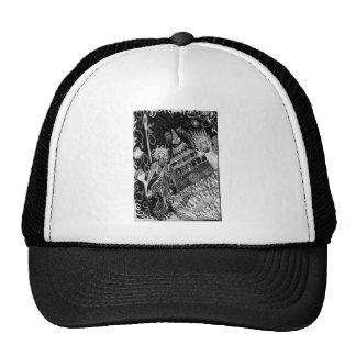 Shadows' Revelry Inverted Trucker Hats