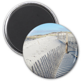 Shadows, Sand Dunes, and Fences Magnet