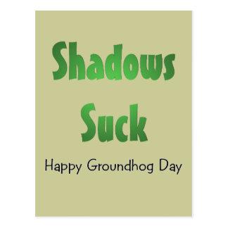 Shadows Suck Postcards